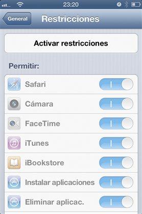 Evita que tus hijos compren aplicaciones con tu iPhone